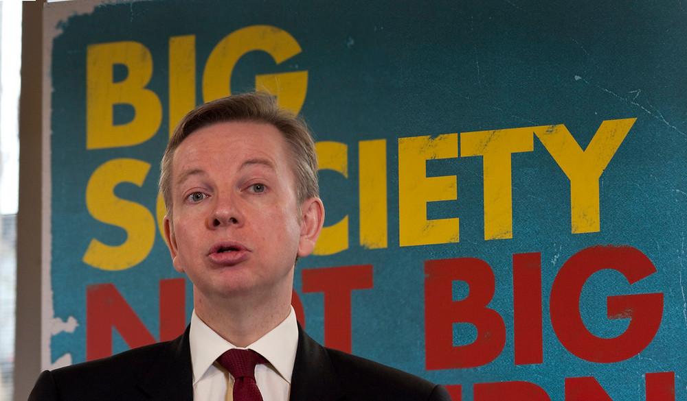The Justice Secretary, Michael Gove