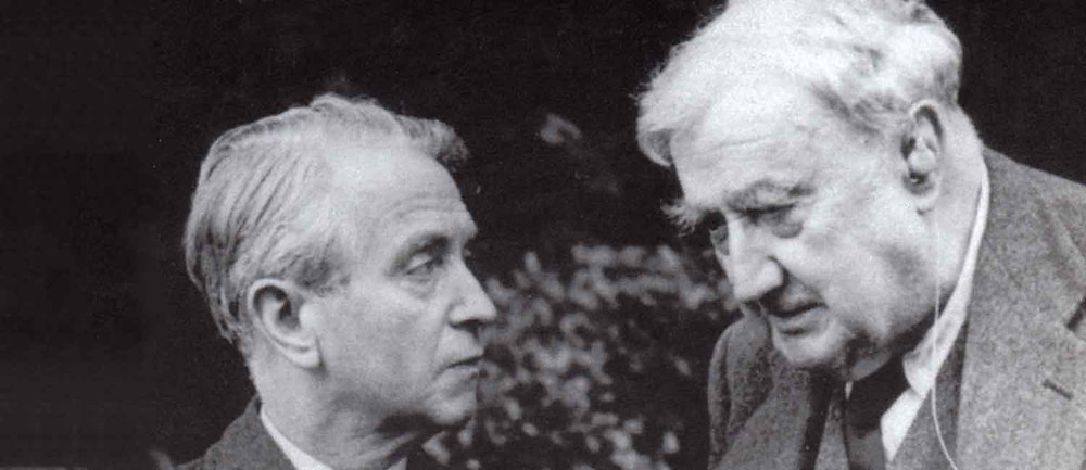 Herbert Howells and Ralph Vaughan Williams, Gloucester 1956