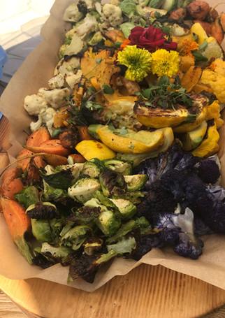 Assortment of Oven Roasted Veggies