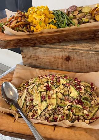Quinoa Salad with Roasted Zucchini