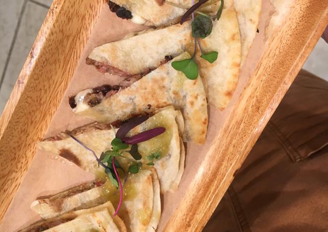 quesadilla with brisket