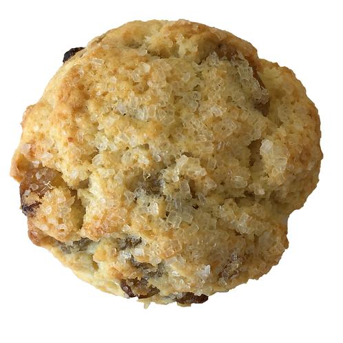 Oatmeal and Cinnamon Raisin Scones
