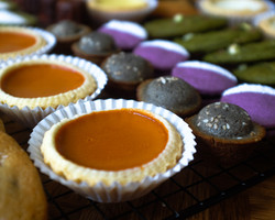 Thai Tea Egg Tart