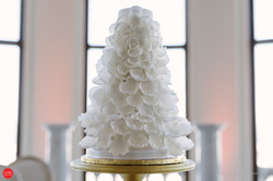 Full Bloom Wedding Cake