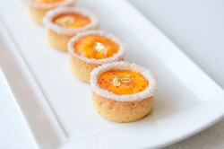 Passionfruit Cheesecake Tart