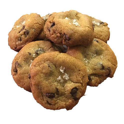 Chocolate Chips Cookie with Sea Salt