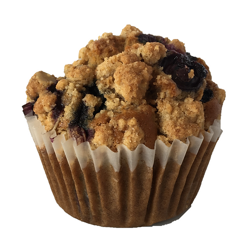 Gluten Free and Vegan Blueberry Muffin