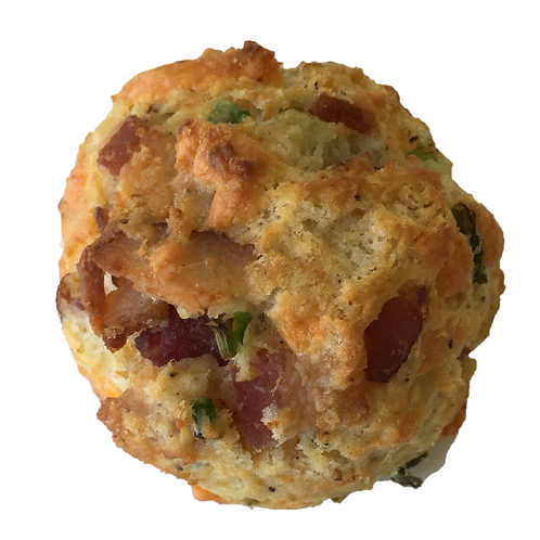 Bacon, Cheddar and Scallion Scones