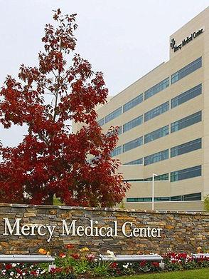 mercy medical center exterior