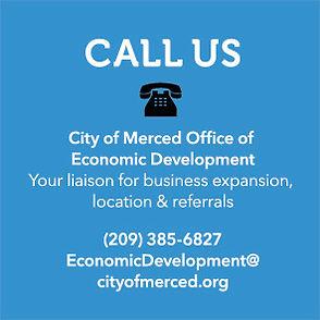 Contact Merced Economic Development at 209-385-6827
