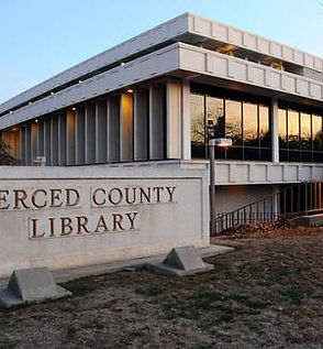 merced library - exterior