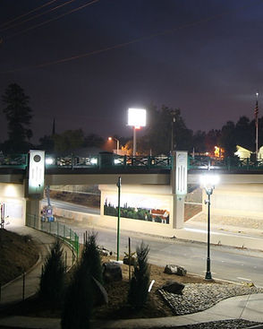 new overpass in merced