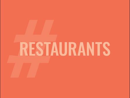 New Opportunity for Restaurants
