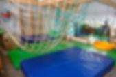 Die Turnhalle der Elterninitiative Kindertagesstätte Hexenkessel Krefeld