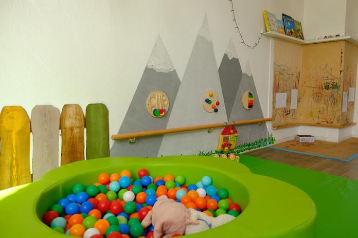 Aktivitätenbereich für unsere Kleinen