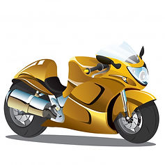 yellow-superbike-sport-bike-cartoon_8140