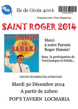 Saint Roger 2014: Merci à notre parrain !