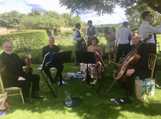 Perfect summer wedding -The Barn at Bury Court Hampshire