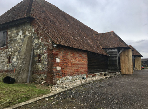 Great Barn wedding Titchfield Hampshire