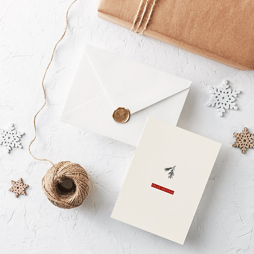 XMAS Card - Mistletoe