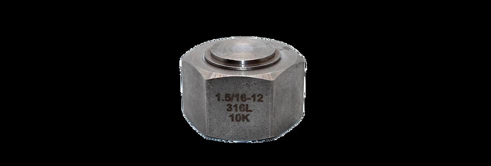 "1-5/16""-12 JIC Swivel Cap (Size 16)"