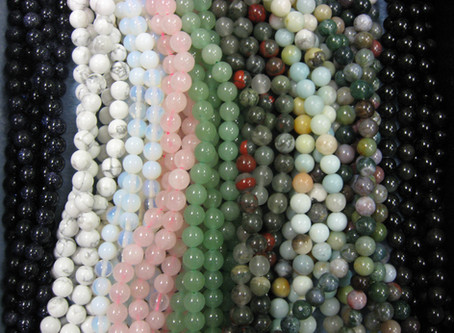 New 6 & 8mm Round Gemstones