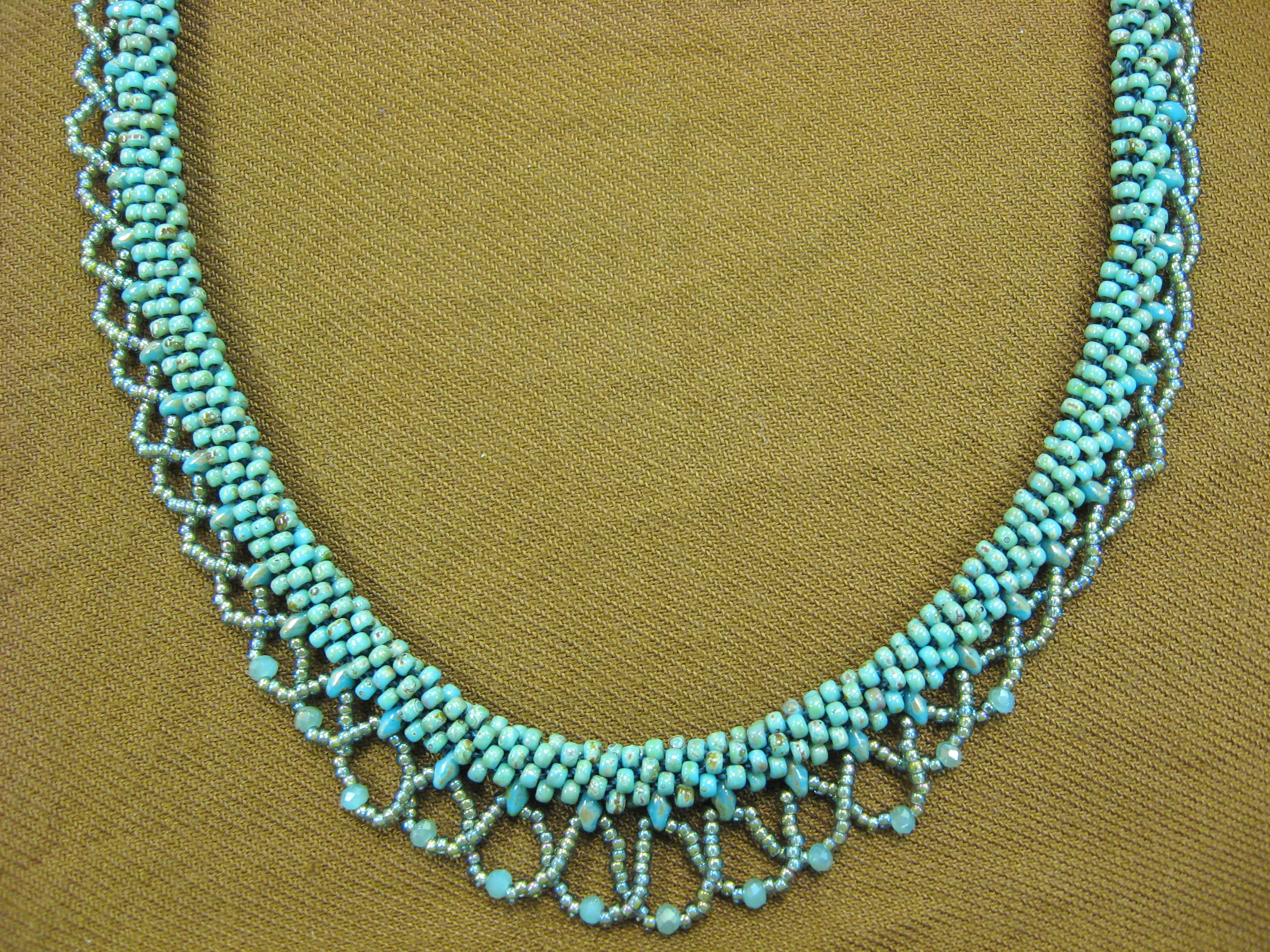 Kumihimo Krazy Necklace