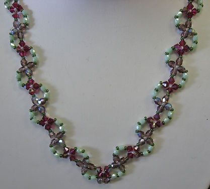 Flower Trellis Necklace.JPG