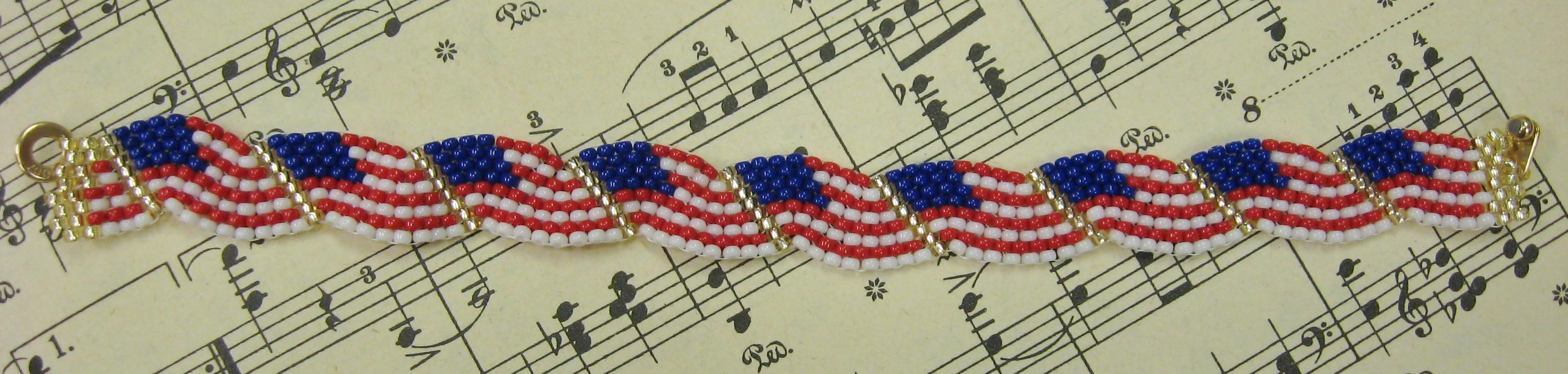 Stars & Stripes Bracelet