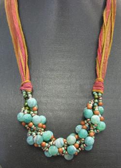 Gemstone Nebula Necklace