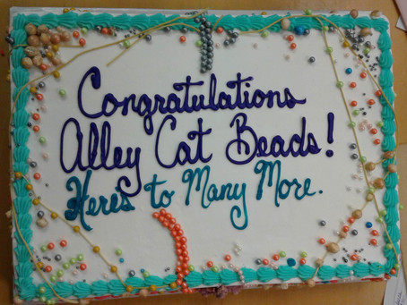 It's Alley Cat Beads 10th Anniversary!