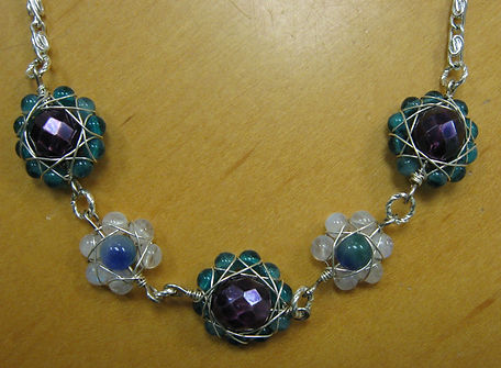 gemstone Wire Flowers.JPG