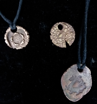 Precious Metal Clay Pendants1