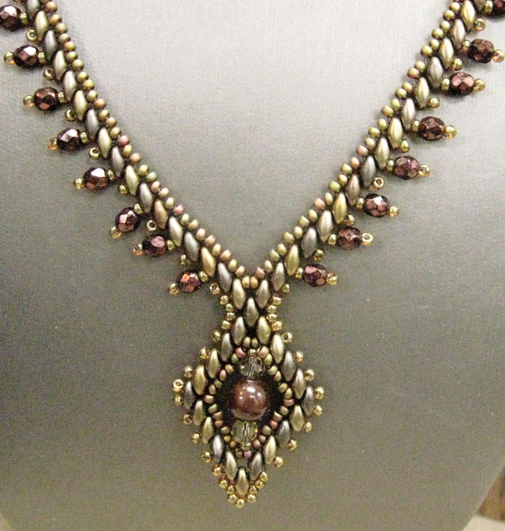 Queen of Diamonds Necklace