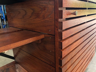 Outdoor kitchen detail