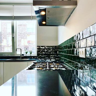 Kitchen project 'emerald'