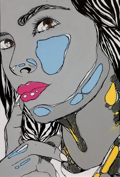 AXILLA painting, free work
