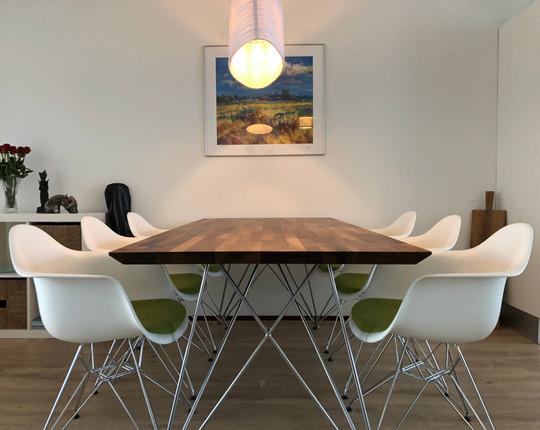 Walnut table 'eames'
