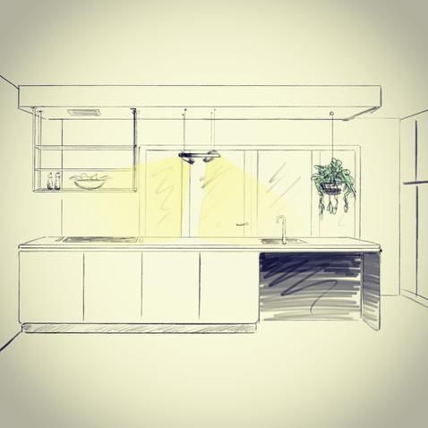 Kitchen sketch 2017
