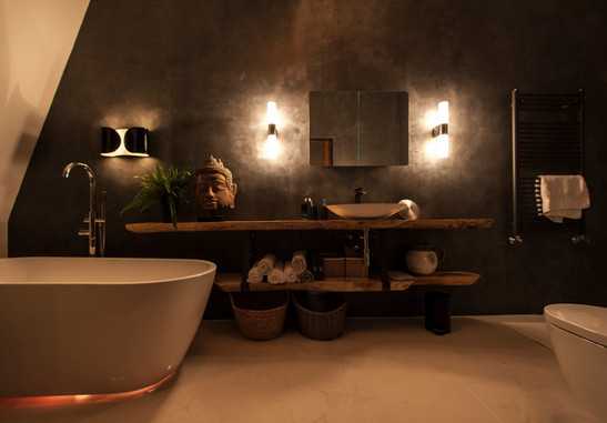 Bathroom evening