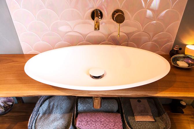 Bathroom 'mermaid'