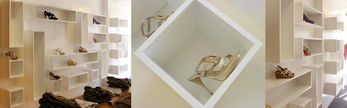Shoe wall design for La Rocca