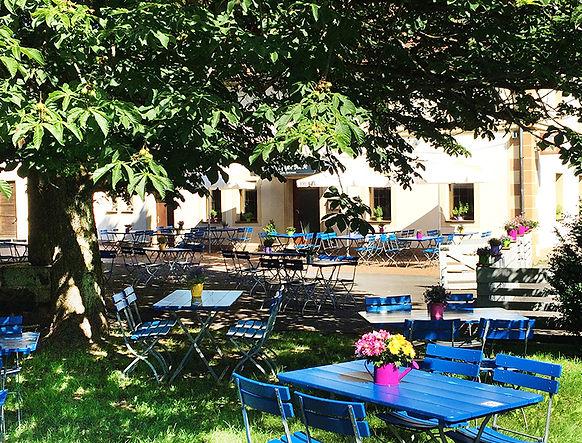 """Biergarten Landgasthof """"Zur Rose"""", Café Schnipperla, Kleinsendelbach, Kaffee, Kuchen"""