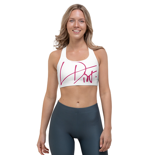 Lina Dior White sports top