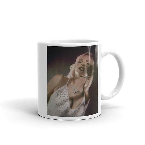 Lina Dior White Glossy Mug