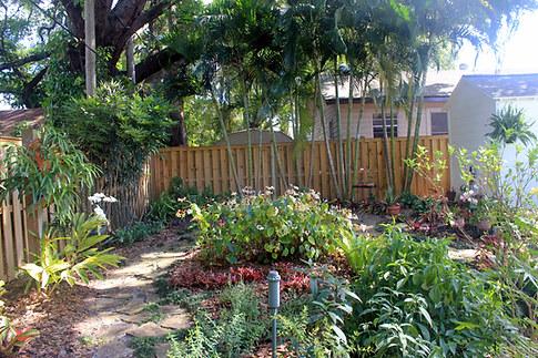 Mary Lydia Ruiz & Dennis Wilkison gardens