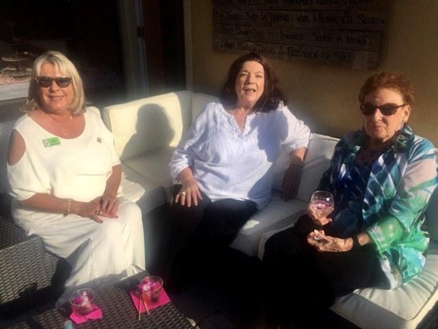 Barb Beury, Linda Lawrence, Cindy Perez