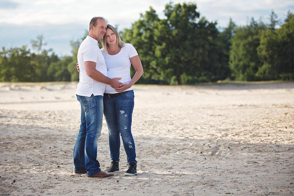 zwangerschapsshoot met partner