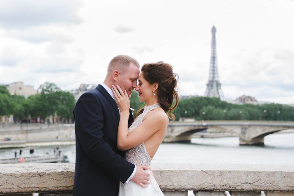 Elopement bruiloft in Parijs