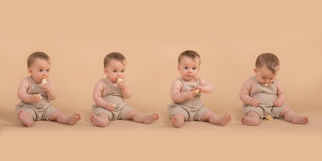 Baby milestones shoot